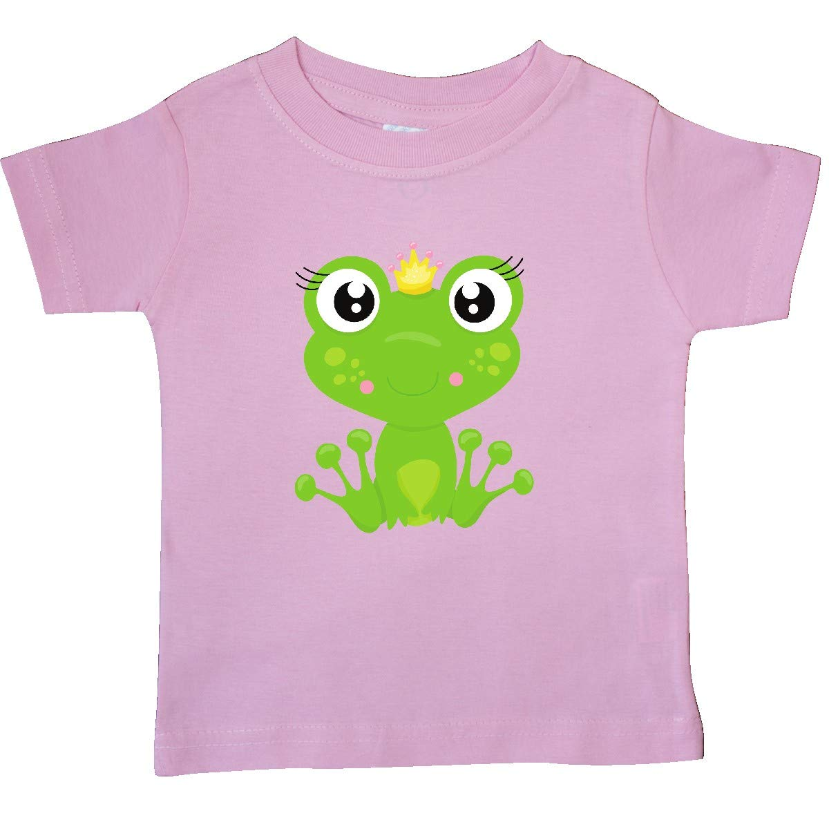 Frog Wearing a Crown Baby T-Shirt Girl Frog inktastic Frog Princess
