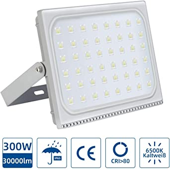 Foco LED 300W, Reflector Foco Proyector LED para Exteriores ...