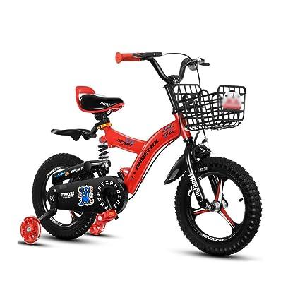 DT La Nueva Bicicleta Amarilla roja para niños 2-3-4-6-