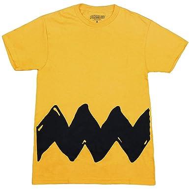 f77fc4fd4c1 Amazon.com  Peanuts Charlie Brown Costume T-Shirt  Clothing