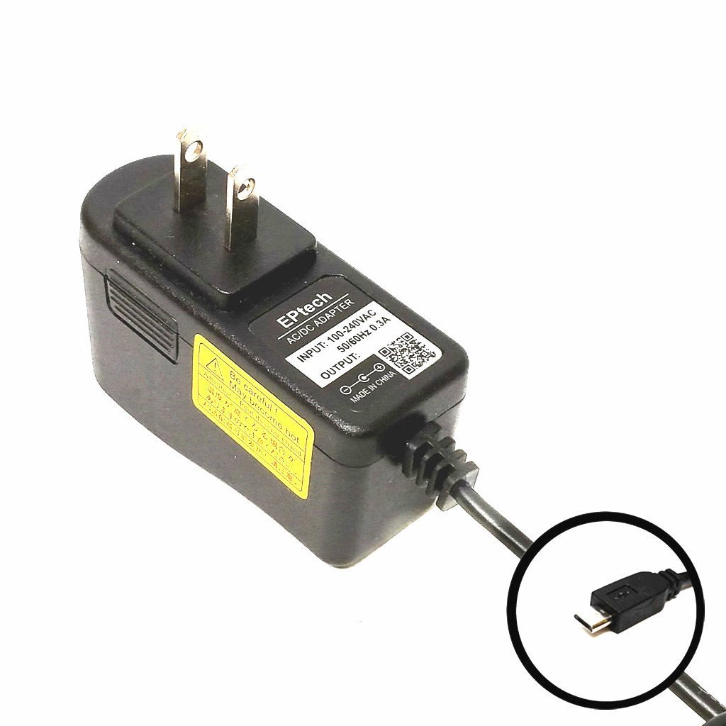 6.5Ft EPtech 2A Wall Charger AC Adapter for Le Pan mini TC802A TC802 Android Touch Screen Tablet