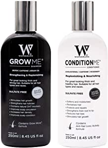 Hair Growth Shampoo and Conditioner by Watermans - Combo Pack - *Can reduce hair loss