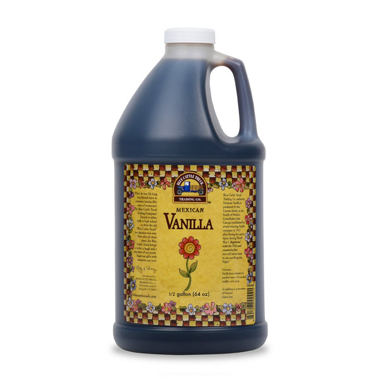 Blue Cattle Truck Trading Original Mexican Vanilla Extract, 64 Ounce