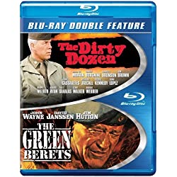 The Dirty Dozen/The Green Berets [Blu-ray]