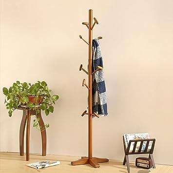 Amazon.com: QiangDa-yimaojia QIANGDA Floor Standing Wooden ...
