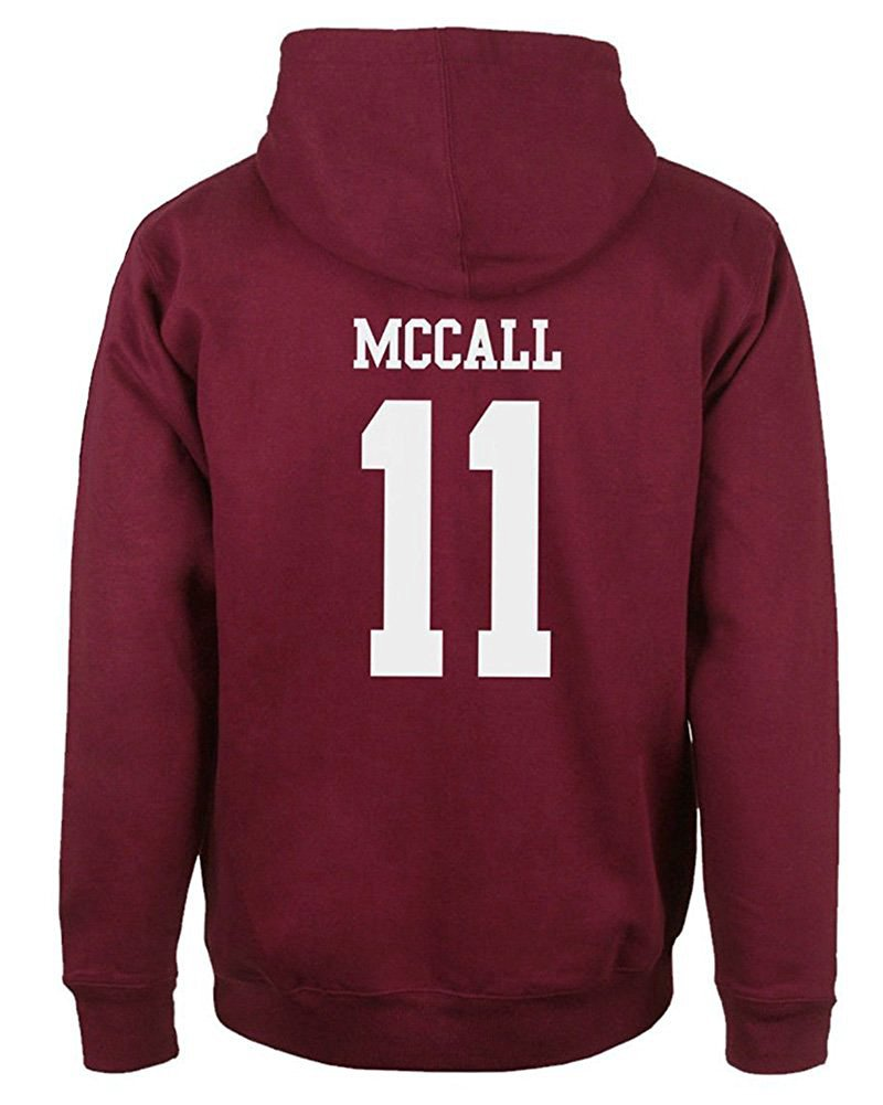 Donna Uomo Autunno Inverno Moda Felpa con Cappuccio Beacon Hills Lacrosse Manica Lunga Hooded Hoodies Sweatshirt Pullover Tops SG180108XJ-DE01