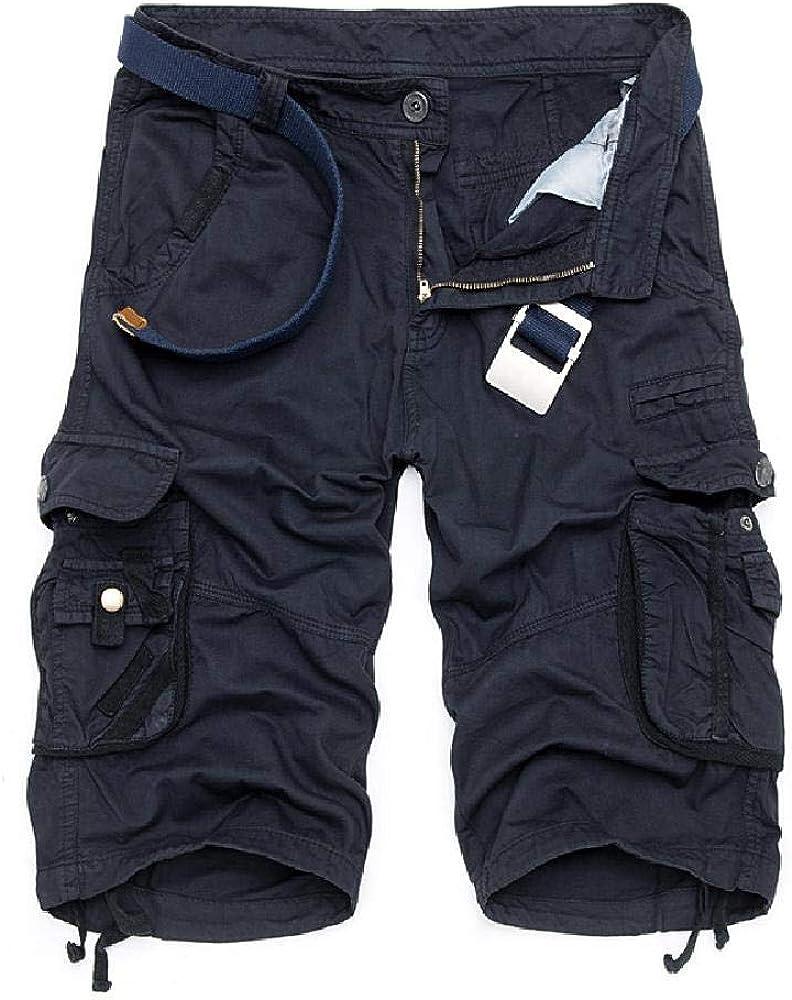 Nobrand 2020 Summer Large Men's Overol Pantalones Medios 8 Color Camuflaje Multi Pocket Moda Monos Shorts Pantalones de 5 Puntos