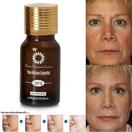QHJ® Suero líquido hidratante para piel facial con vitamina C original, antienvejecimiento, antiarrugas