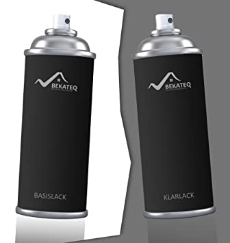 2x400ml Motorradlack Spraydosen Set Honda Motor Hon289 Dark Candy