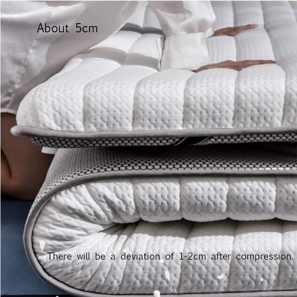L-WWXXZY Gel Memory Foam Mattress Topper, Cooling Breathable Tatami Floor Mat Soft Sleeping Memory Cotton Futon Tatami Mattress Pad-a 90x190cm(35x75inch)