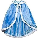 Labellevie Capa Disfraces de Princesa Costume para Niñas Disfraces para Halloween