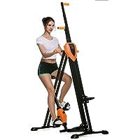 Ancheer Vertical Gym Grimpeur Appareil de Fitness Pliable Réglable en Hauteur Matériel de Sport Ergomètre Entraînement à Domicile 2 en 1 Entraîneur de la Jambe et Bras pour les Adultes