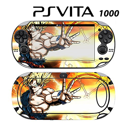Skin Decal Cover Sticker for Sony PlayStation PS Vita (PCH-1000) - Dragon Ball Z Xenoverse (Dragon Ball Z Vita)