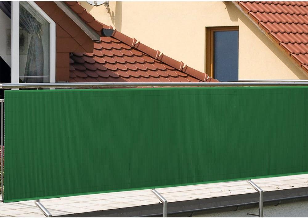 H/öhe 80cm WIS Sichtschutzmatte Sichtschutzzaun Balkon Zaun Sichtschutz Gr/ün Wetterfest Sichtschutz Farbwahl K/ürzbar Gr/ö/ße w/ählbar L/änge 3m F/ür Balkon Au/ßenbereich Swimming Pools