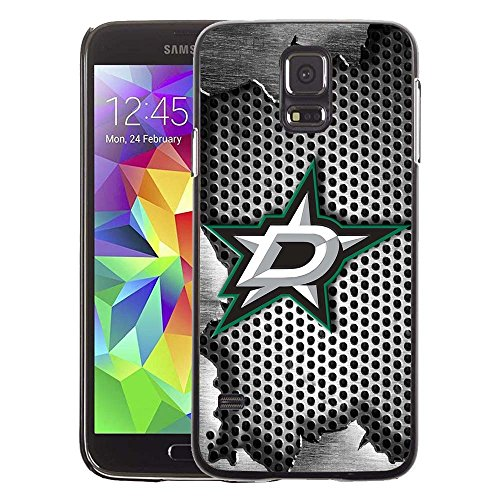 fan products of Samsung Galaxy S5 Case, Dallas Hockey Team logo 61 Drop Protection Never Fade Anti Slip Scratchproof Black Hard Plastic Case