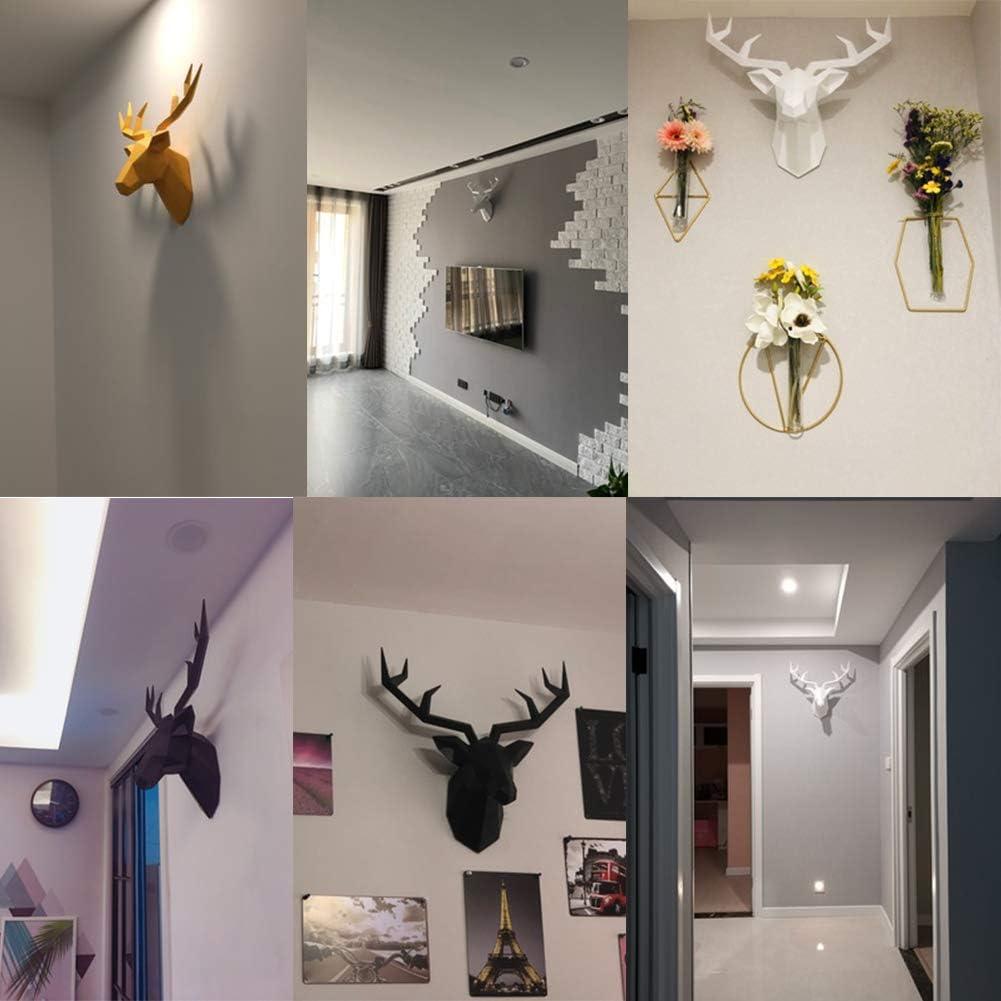 3D Deer Head Statue Sculpture