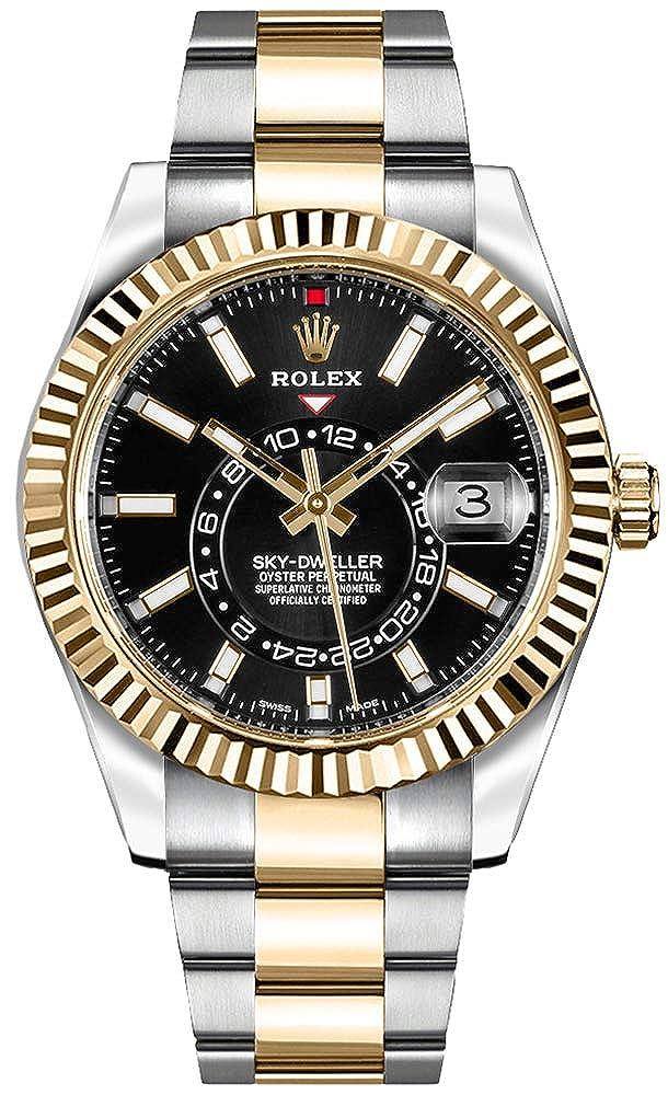 Amazon.com Luxury Rolex Sky,Dweller Black Dial Gold \u0026 Steel