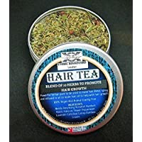 HAIR TEA - HERBAL TEA RINSE WITH A BLEND OF 10 HERBS TO PROMOTE HAIR GROWTH - Herbal hair Vitamins- Deep conditioner For Hair Growth - Herbal conditioner -Vegan Hair Conditioner - Afro and Caucasian Hair treatment -Can be used to make herbal APPLE CIDER VINEGAR HAIR RINSE