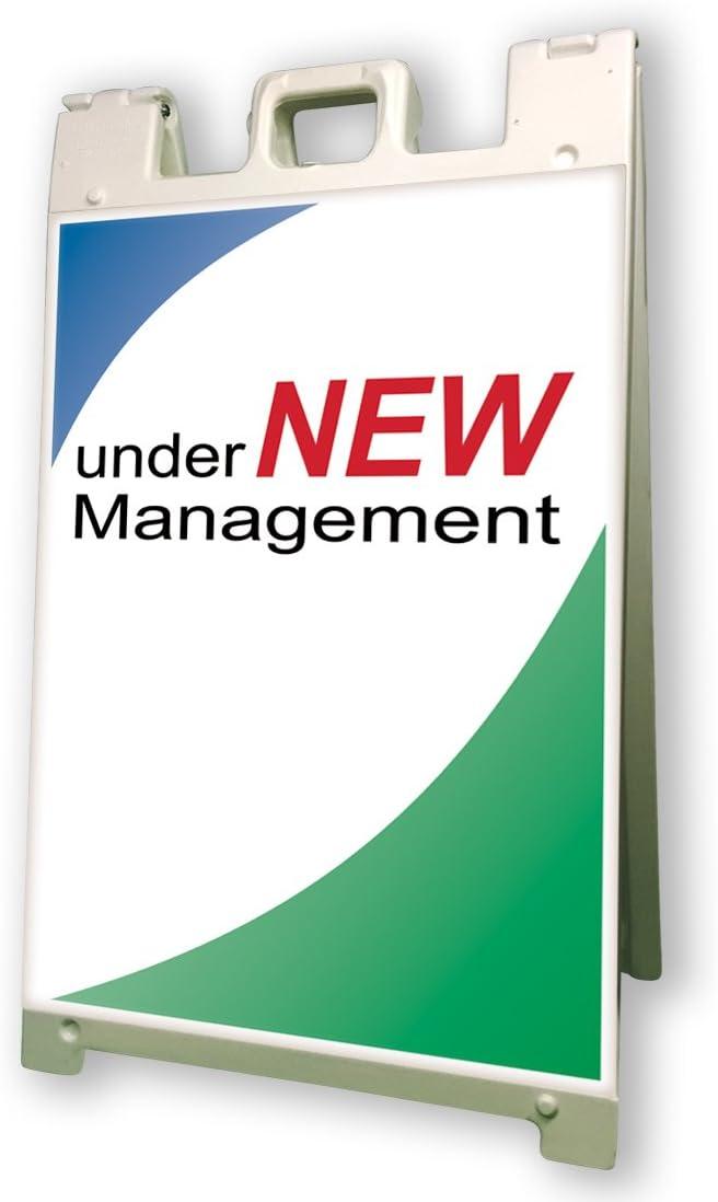 Under New Management Sidewalk A Frame 24x36 Outdoor Ownership Retail Sign