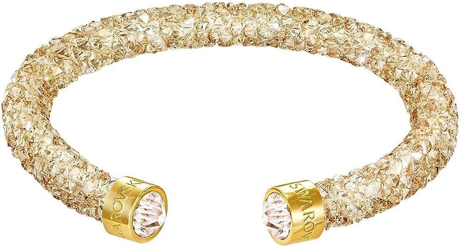 Swarovski - Bracelet - Acier Inoxydable - Cristal 5250067: Amazon ...