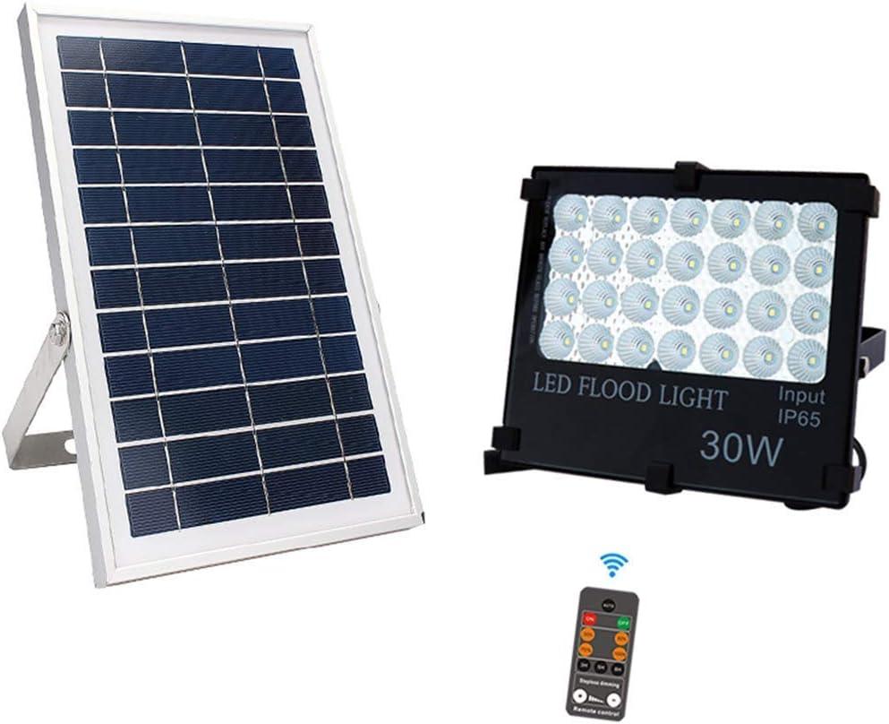 SLRMKK Luces de inundación solares al Aire Libre Dusk to Dawn IP66 Paneles solares LED 800LM Impermeables con Cable de 5 m, temporización, Brillo Regulable, Accesorio de iluminación de Seguridad Sola