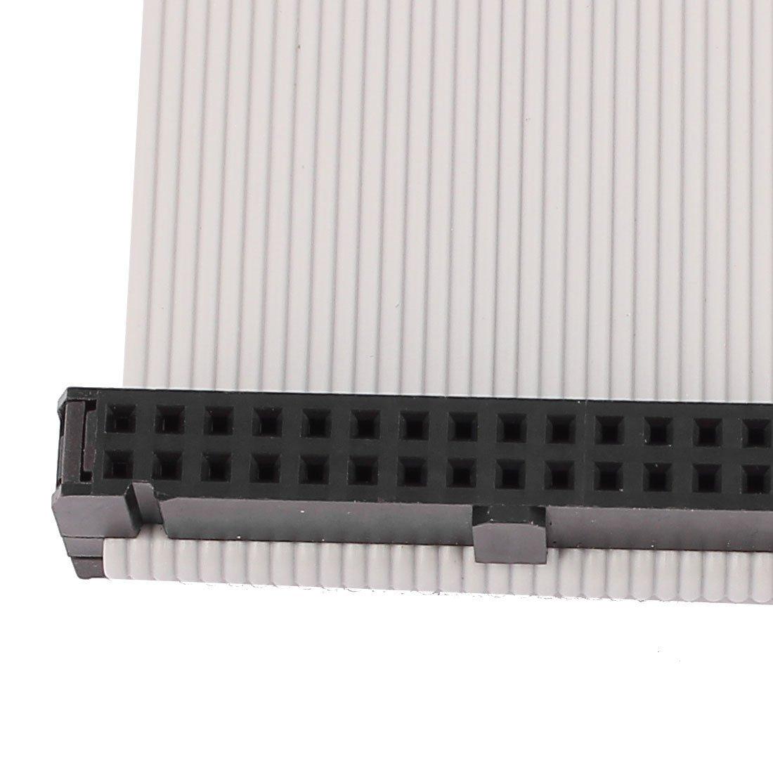 eDealMax IDC conector del Cable Plano de la Cinta, 34P, 34 Wire, 1, 28 m de Largo, 2, 54 mm Pitch: Amazon.com: Industrial & Scientific