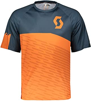 Scott Trail 30 Bicicleta Camiseta Corta Naranja/Azul 2018, Color Nightfall Blue/Mandarin Orange, tamaño XL (54/56): Amazon.es: Deportes y aire libre