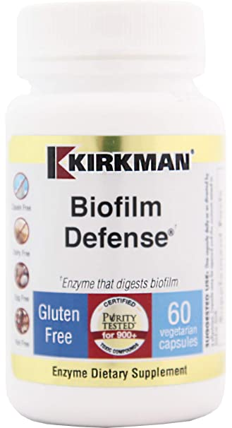 Amazon com: Kirkman Biofilm Defense || 60 Vegetarian Capsules