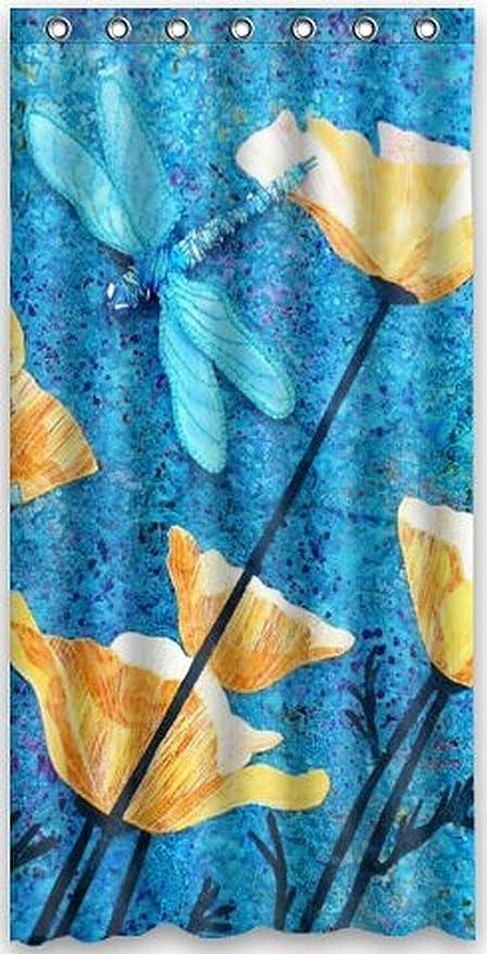 Custom Popular Beautiful Drago y by Blackout Panel Curtain