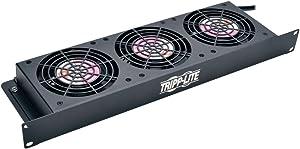 Tripp Lite Rack Enclosure Server Cabinet 1U Cooling Fan Tray 3 120V High-Performance Fans, 210 CFM SRFAN1U