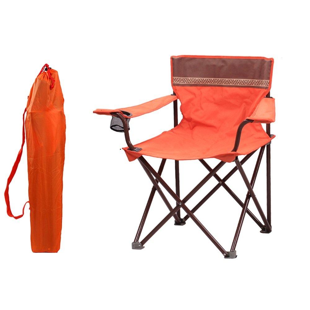 YNN Klapp-Camp Chair mit Armlehne Cup Holder-Lightweight & Durable Outdoor-Sitz - Perfekt für Camping, Festivals, Garten, Caravan Trips, Angeln, Strand, BBQs