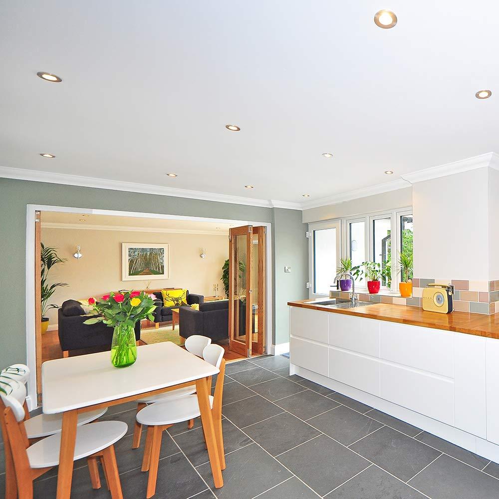 Design House 519512 Recessed New Construction Housing 6 Galvanized Steel HI Design House