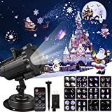 Tanbaby Snowfall LED Lights - LED Projector, LED Spotlight, Halloween Projector for Easter, Holloween, Birthday, Wedding Partys, Decor (Plum Head)