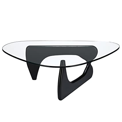 Poly And Bark Isamu Noguchi Style Coffee Table Black Amazonca - Isamu noguchi style coffee table