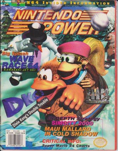 Nintendo Power (Big Splash: Wave Race 64, Donkey Kong Country 3, Blast Corps, SimCity 2000, Volume 90, November 1996)