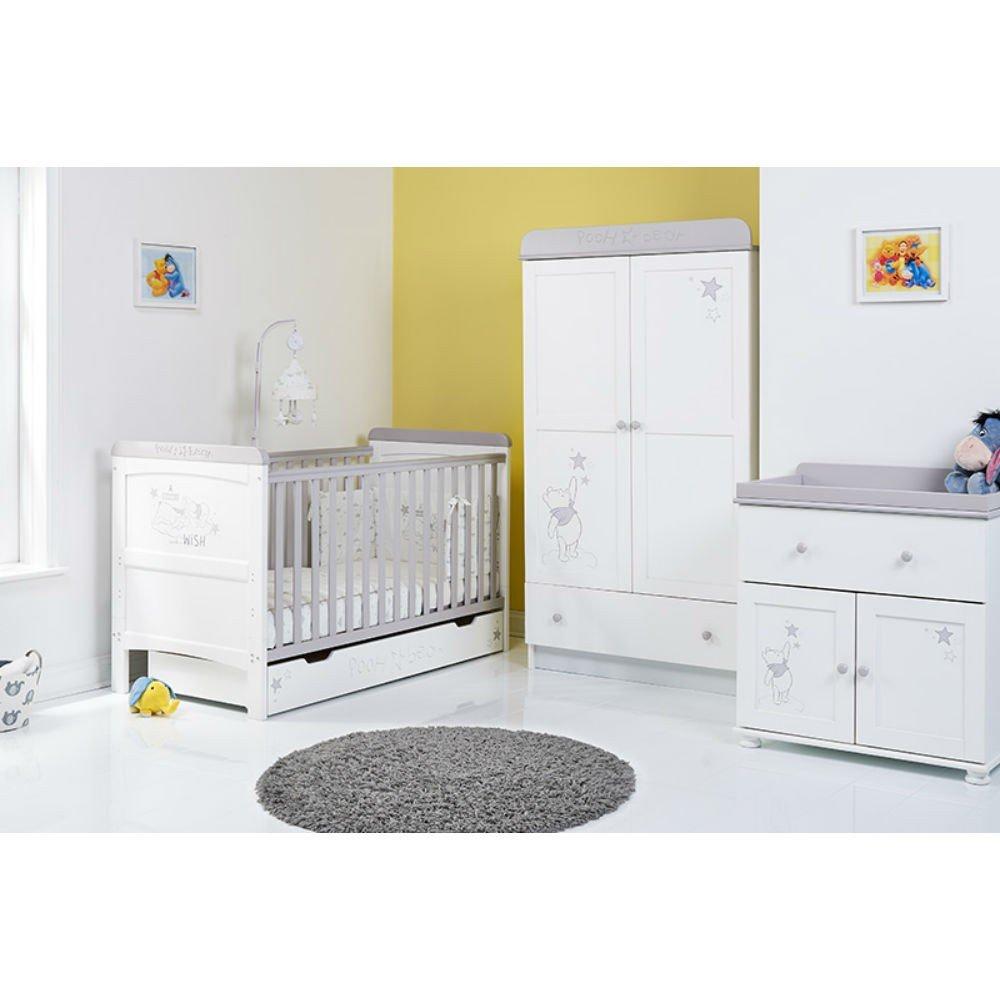 Disney Winnie The Pooh 3 Piece Nursery Furniture Set   Dreams U0026 Wishes:  Amazon.co.uk: Baby