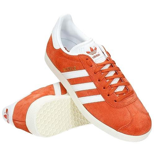 adidas BZ0024 - Zapatillas Casual de Ante Hombre, Color Naranja, Talla 47 EU: Amazon.es: Zapatos y complementos