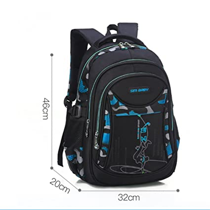 a583c16c53 Image Unavailable. Image not available for. Color  JJSSGJBB Student backpack  nylon school bags for teenage boys and girls children backpacks ...