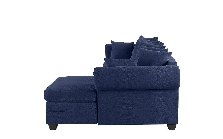 Amazon.com: Rabinyod Bulan Navy Blue Modern Large Fabric ...
