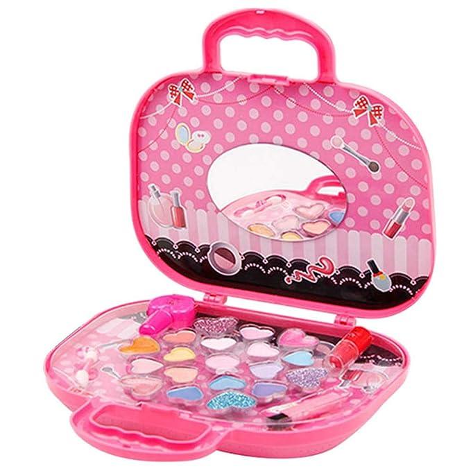 Amazon.com: TiTa-Dong - Kit de maquillaje para niña, lavable ...