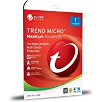 Trend Micro Maximum Security V10 - 1 User, 1 Year (CD)