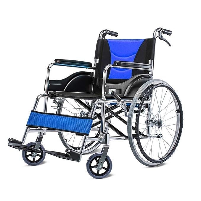 Amazon.com: YE ZI Wheelchair - Double Brake Design Powered ...