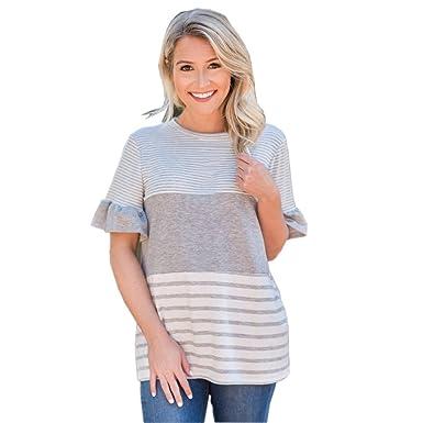 Amazon.com: ST. Dona _ Mujer Blusas Para Mujer Blusa, St ...