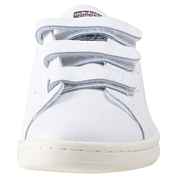 Adidas Stan Smith CF, Zapatillas de Deporte para Hombre, Blanco (Ftwbla/Borosc/Casbla), 44 2/3 EU