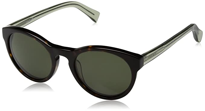 513b78fb08d Amazon.com  Cole Haan Ch6008s Round Sunglasses DARK TORTOISE 50 mm ...