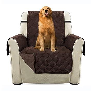 Immoch Cubre para Sofá Funda Acolchada para Sofá para Mascotas Perros, Gatos Cubresofá Protector para