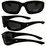 Birdz Oriole Motorcycle Padded Glasses SMOKE Anti