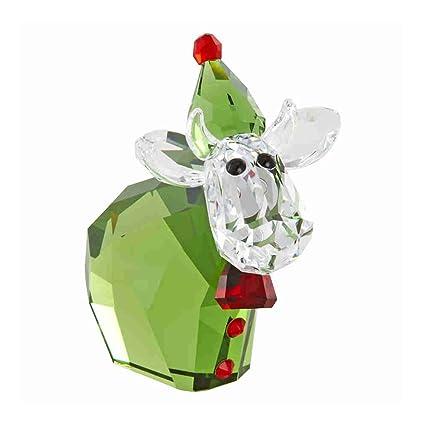 e03207501a0dd Swarovski Santa's Helper Mo, Limited Figurine: Amazon.ca: Home & Kitchen