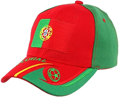 PAYS Casquette Portugal Equipe de Football Mixte