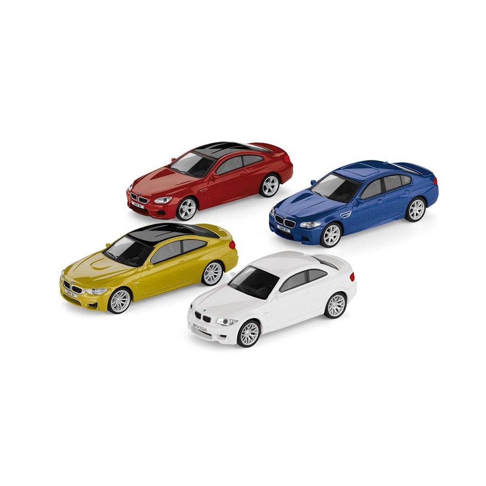 BMW Juego de 4Original M Car Collection miniatura 1: 641er M Coupé M4Coupé M5M6Coupé